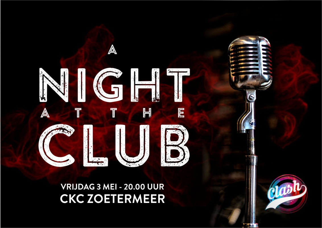 Logo Cadenza CLASH - A Night at the Club