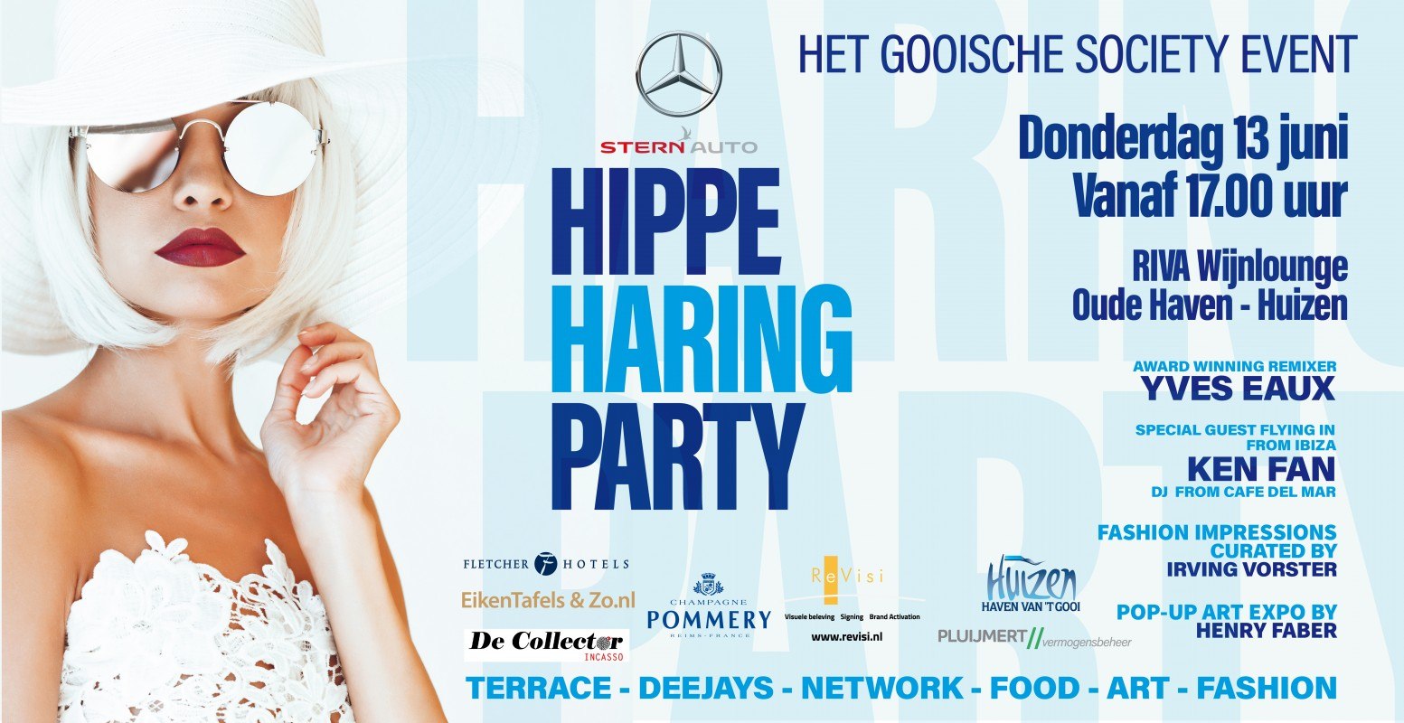 Logo HIPPE HARING PARTY