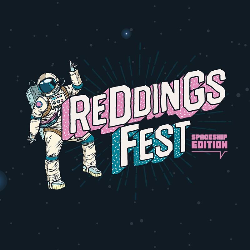 Logo REDDINGSFEST 2020 ~ Spaceship Edition