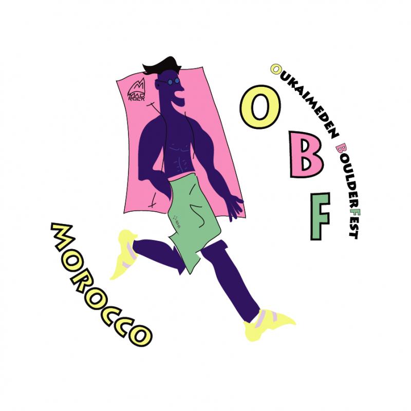Logo Oukaimeden Boulderfest 2020