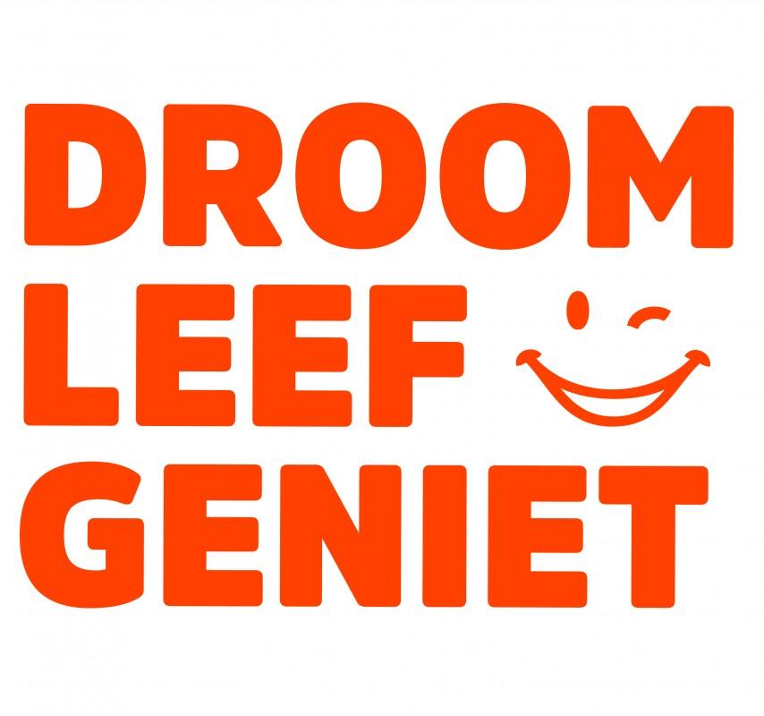 Logo Droom Leef Geniet Amsterdam