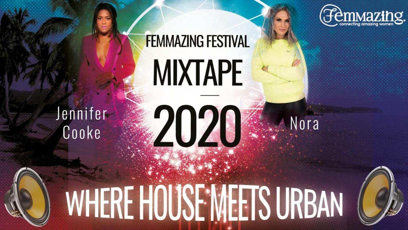 Logo Femmazing festival mixtape release party