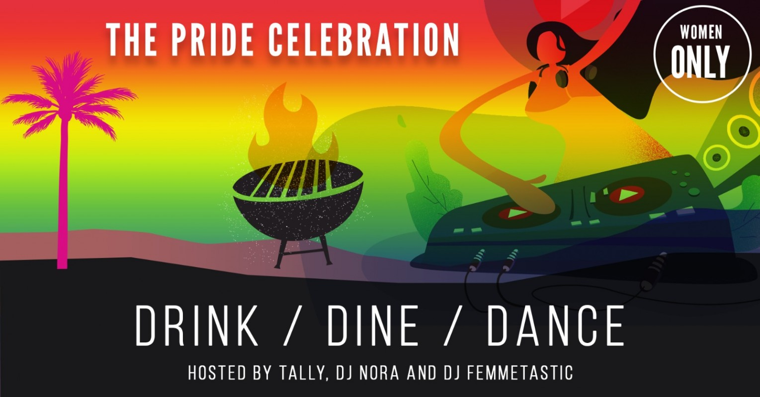 Logo Femmazing Pride celebration