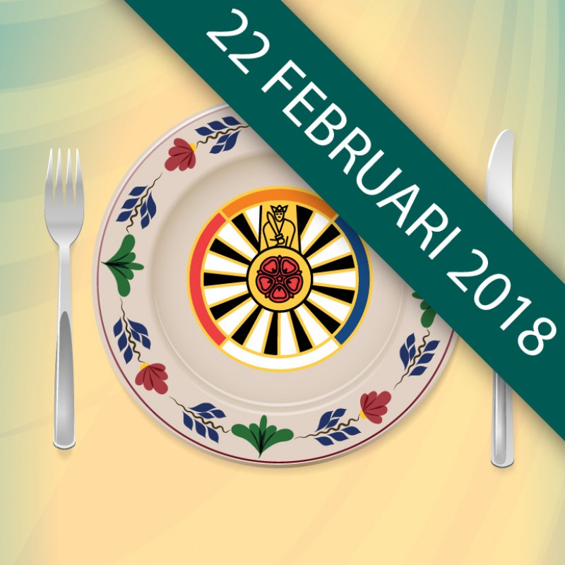 Logo Running Dinner 2018