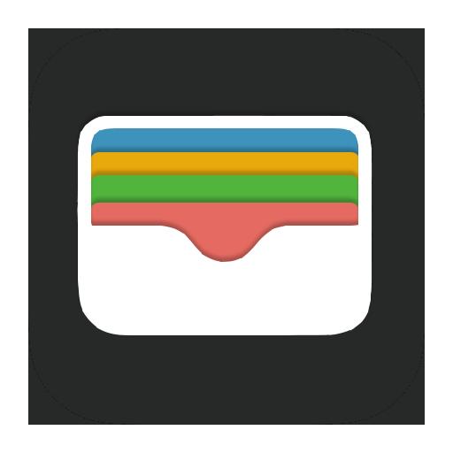 Apple Wallet icoon